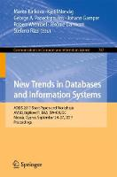 New Trends in Databases and Information Systems ADBIS 2017 Short Papers and Workshops, AMSD, BigNovelTI, DAS, SW4CH, DC, Nicosia, Cyprus, September 24-27, 2017, Proceedings by Marite Kirikova