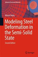 Modeling Steel Deformation in the Semi-Solid State by Marcin Hojny