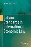 Labour Standards in International Economic Law by Henner Gott