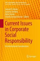 Current Issues in Corporate Social Responsibility An International Consideration by Samuel O. Idowu