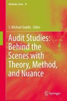 Audit Studies: Behind the Scenes with Theory, Method, and Nuance by S. Michael Gaddis