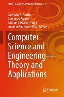 Computer Science and Engineering-Theory and Applications by Mauricio A. Sanchez
