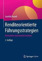 Renditeorientierte Fuhrungsstrategien Kennzahlen Motivierend Einsetzen by Gunhild Posselt