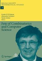 Fete of Combinatorics and Computer Science by Gyula O.H. Katona
