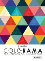 Colorama From Fuchsia to Midnight Blue by Cruschiform