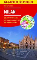 Milan Marco Polo City Map 2018 - pocket size, easy fold, Milan street map by Marco Polo