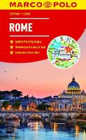 Rome Marco Polo City Map 2018 - pocket size, easy fold, Rome street map by Marco Polo