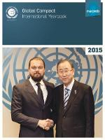 Global Compact international yearbook 2015 by United Nations: Global Compact Office