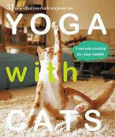 Yoga with Cat by Masako Miyagawa