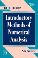 Introductory Methods of Numerical Analysis by S. S. Sastry