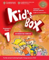 Kid's Box Level 1 Teacher's Book Updated English for Spanish Speakers by Lucy Frino, Melanie Williams, Caroline Nixon, Michael Tomlinson
