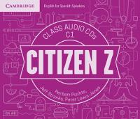 Citizen Z C1 Class Audio CDs (4) by Herbert Puchta, Jeff Stranks, Peter Lewis-Jones