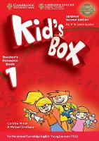 Kid's Box Level 1 Teacher's Resource Book with Audio CDs (2) Updated English for Spanish Speakers by Caroline Nixon, Michael Tomlinson