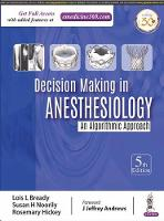 Decision Making in Anesthesiology by Lois Bready, Susan H Noorily, Rosemary Hickey
