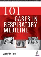 101 Cases in Respiratory Medicine by Supriya Sarkar