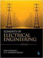 Elements of Electrical Engineering by Pruthviraja L, B.G. Kumara Swamy