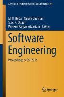 Software Engineering Proceedings of CSI 2015 by M. N. Hoda