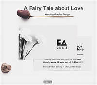 A Fairy Tale About Love Wedding Graphic Design by Xia Jiajia, Yang Ruizhu