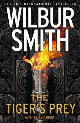 Cover for The Tiger's Prey by Wilbur Smith, Tom Harper