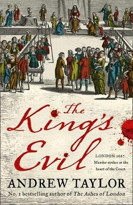Cover for The King's Evil by Andrew Taylor
