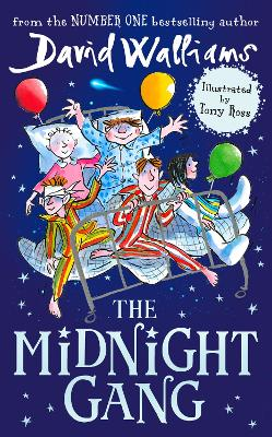 Cover for The Midnight Gang by David Walliams