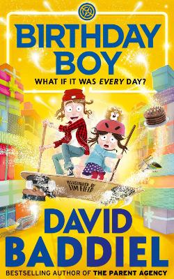 Cover for Birthday Boy by David Baddiel