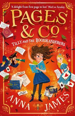 Cover for Pages & Co.: Tilly and the Bookwanderers by Anna James