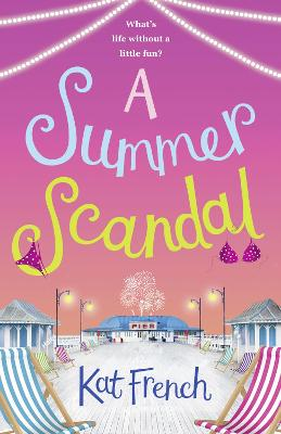 Cover for A Summer Scandal by Kat French