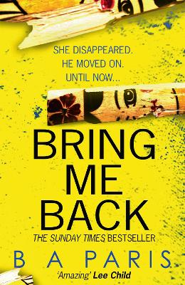 Cover for Bring Me Back by B. A. Paris