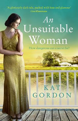 Book Cover for An Unsuitable Woman by Kat Gordon