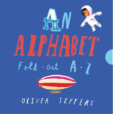 Cover for An Alphabet by Oliver Jeffers