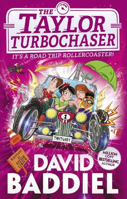 Cover for The Taylor Turbochaser by David Baddiel