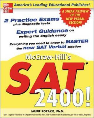 McGraw-Hill's SAT 2400! by Laurie, PhD Rozakis
