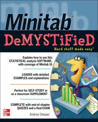 Minitab Demystified by Andrew Sleeper