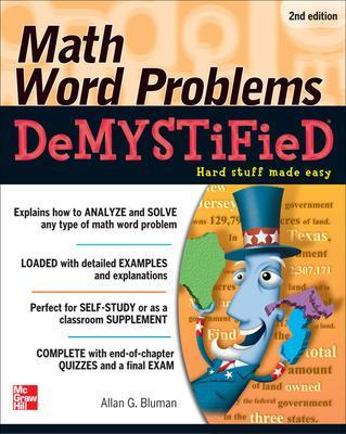 Math Word Problems Demystified by Allan G. Bluman