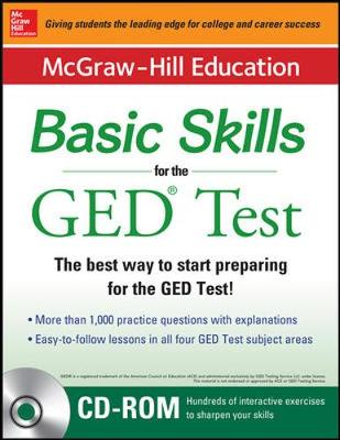 McGraw-Hill Education Basic Skills for the GED Test with DVD (Book + DVD Set) by McGraw-Hill Education