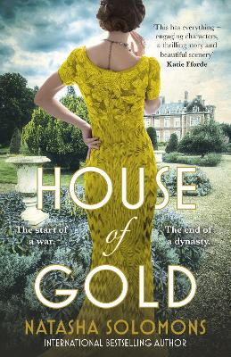Cover for House of Gold by Natasha Solomons