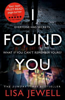 Cover for I Found You by Lisa Jewell