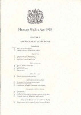 Human Rights Act, 1998 by