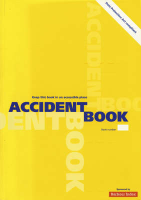 Accident book by Stationery Office