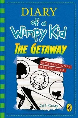 Cover for Diary of a Wimpy Kid: The Getaway by Jeff Kinney