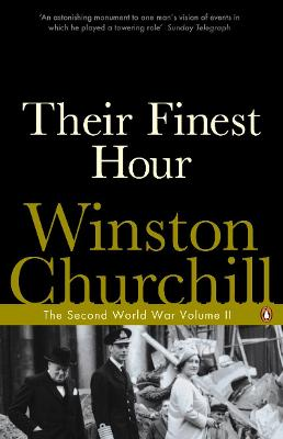 Their Finest Hour The Second World War by Winston Churchill