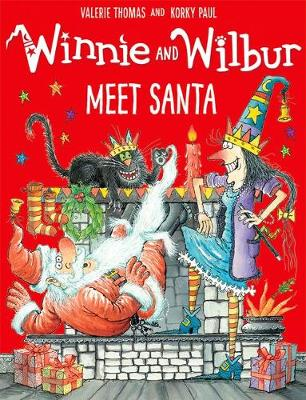 Winnie and Wilbur Meet Santa by Valerie Thomas