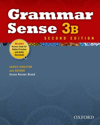 Grammar Sense: 3: Student Book B with Online Practice Access Code Card by