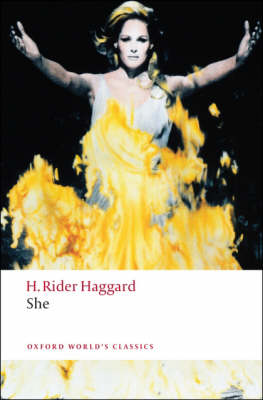 Cover for She by H. Rider Haggard