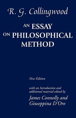 An Essay on Philosophical Method by R. G. Collingwood