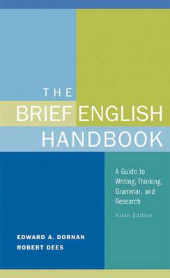Brief English Handbook by Edward A. Dornan, Robert Dees
