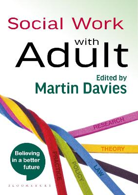 Social Work with Adults by Martin Davies