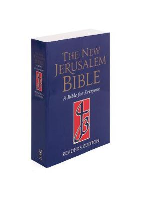 NJB Reader's Edition Paperback Bible by Henry Wansbourgh
