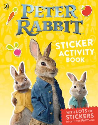 Cover for Peter Rabbit The Movie: Sticker Activity Book by Frederick Warne